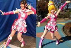 Japanese Superheroes, Glitter Force, Glitter Hearts, Pretty Cure, Fursuit, Mascot Costumes, Magical Girl, Behind The Scenes, Harajuku