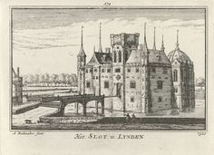 Huis ter Lede, Abraham Rademaker, 1727 - 1733