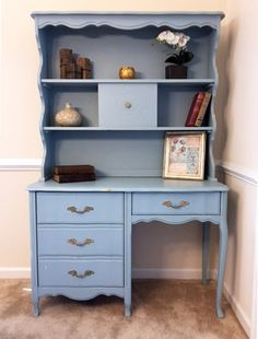 How to chalk paint furniture. It doesn't take much to redo some old wooden furniture. See how to chalk paint furniture with just a few supplies. Turn trash into treasures.