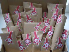 Adventskalenderfüllungen - Adventskalender ↟ für Nähbegeisterte - ein Designerstück von Handgewerkel bei DaWanda