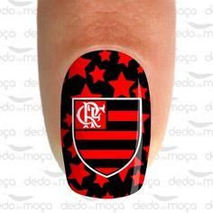 Adesivo para Unha - Flamengo