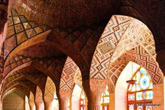 Nasir AlMolk Mosque    Shiraz, Iran
