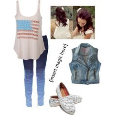 """""""Forth of July!!:)"""" by bronsk8 on Polyvore"""