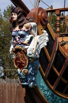Pirates:  #Pirate Ship Figureheads.