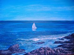 Ogunquit Painting-early one from last year