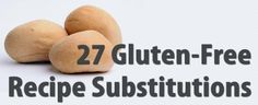 Gluten-Free Substitutions