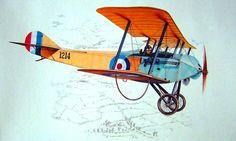 1915 Sopwith Tabloid - arte de la caja Special Hobby