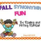 Same game, new fun and colorful graphics ! This is a matching card game for synonyms. Students in grades 1-3 could benefit from it. I have used this as both a Go Fish style game and a Concen...