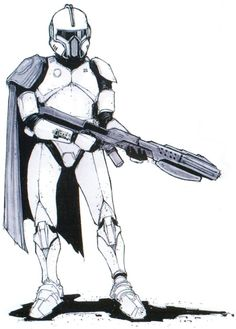 Clone Trooper Phase II concept.