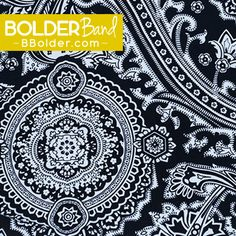 Out of the Blue is our BOLD new pattern from BOLDERBand Headbands. Like all of our colors and patterns, they are only here for a limited time only so order today!