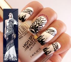 #nailart #stamping #nailart #mani #uñas #diseñodeuñas #uñasestampadas #sexynails #moda #estilo #style #fashion