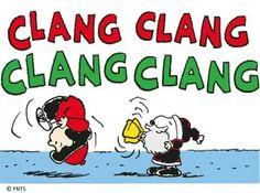 Clang clang santa snoopy