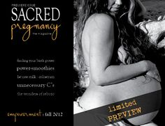 Sacred Pregnancy Magazine - info and free preview!