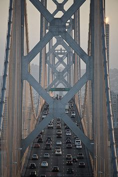 SF • Bay Bridge. i think i just decided i want to spend some time in san francisco in the future