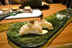 Pejerrey with Nori: Silverside fish with nori emulsion and ceviche juice Lima Restaurants, Asian Recipes, Ethnic Recipes, Peruvian Recipes, Lima Peru, Ceviche, Lifestyle Blog, Beverages, Hiking Trips