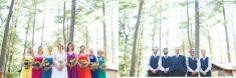 Camp Kiwanee Wedding   DIY Vintage Summer Camp Wedding   Vintage Brooch Bouquet
