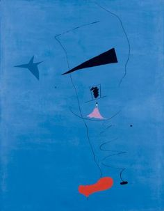 "Joan Miró's ""Peinture (Étoile Bleue),"" 1927, is the latest ABSOLUTELY THE MOST IMPORTANT WORK BY [ARTIST] EVER to come to market. Sotheby's announced this morning that the work will go under the hammer at the auction house's Impressionist and modern art sale in London on June 19. It's 15-20 million pounds (24-32 million dollars) pre-sale estimate puts it in the realm of the top five highest estimates ever given by Sotheby's."