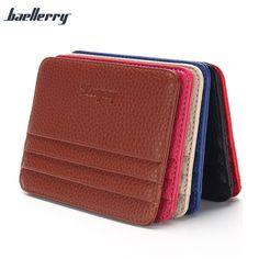 8b5630fe7b809 Short Design Men Women Wallet Multi Card Wallet Unisex Card Set