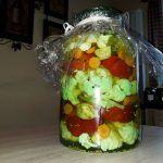 Peppers and Cauliflower in Vinegar (Mama Floris Recipe)