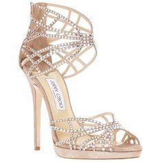 f61241b052d610 JIMMY CHOO BRONZE PALOMA LANG 110 SANDALS.  jimmychoo  shoes  sandals   SandalsHeels