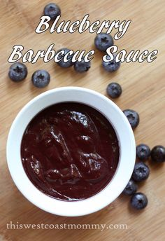 This sweet and spicy Blueberry Barbecue Sauce captures the taste of summer!