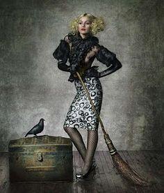 Gothic Circus Fashion Shoot - August Bradley