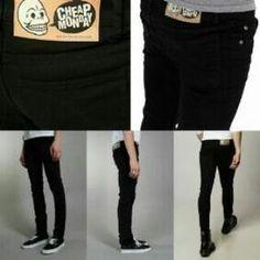 "CELANA JEANS SLIM FIT CHEAP MONDAY HITAM <br><a class=""btn btn-danger m-t-10"" href=""/product_detail/ds-OnfS8oiywA/celana-jeans-slim-fit-cheap-monday-hitam--2183237.html"">Beli Barang</a> Cheap Monday, Black Jeans, Slim, Fitness, Pants, Fashion, Trouser Pants, Moda, Fashion Styles"