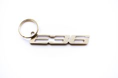 BMW E36 stainless steel hand polished keychain by MetalStyleLT on Etsy