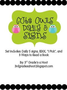 Frog theme literacy signs for a bulletin board. Colorful, polka dot background with frogs. Daily 5 Reading, Daily 5 Math, Owl Theme Classroom, Classroom Ideas, Classroom Design, Daily 5 Stations, Literacy Stations, Creative Teaching, Teaching Ideas