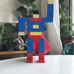 Superduploman. #spandex #superman #clarkkent #stålmannen #superhero #hero #movie #lego #duplo
