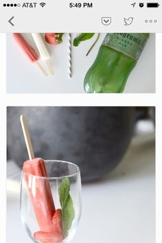 Popsicle drink