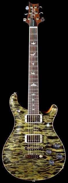 PRS Wood Library Ltd Artist Package McCarty 594 Indian Rosewood Neck Quilt Obsidian - Wild West Guitars
