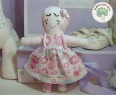 Memory Dollies are treasured keepsakes made from your child's precious first garments. Ideal New Baby, Baby Shower,Christening presents. Find out more about ordering and prices (from £18.00) at  https://docs.google.com/file/d/0B4AwFsR4rOusa1BrR1lDdEJ6R0k/edit?usp=sharing or PM me.