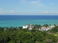 Jamaica ~ Look at that beautiful water!