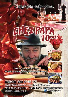 Pub Chez Papa 10eme