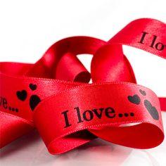 Schleifenband für #Valentinstag #createam #image #schleifenband #satinband #banddruck #logoband #bandweberei #ribbons #imageribbons #satinribbons #namensbaender #geschenkband #packaging