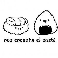 nos encanta el sushi