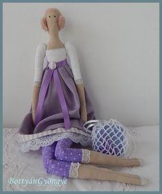 Tilda jellegű baba - Lilla - Tilda doll - Lilla Textiles, Dolls, Children, Toddlers, Boys, Kids, Doll, Baby, Child