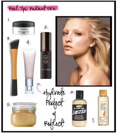 Tips to Radiant Skin - Check out www.realtechniques.com for the step-by-step process (posted on 12.13.12)