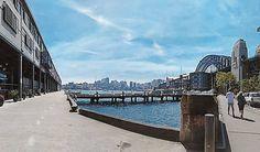 Sightseeing before ballet  . . #panorama #Sydney #city #wharf #sydneyharbour  #sydneyharbourbridge #harbour #waterview #Australia by genie_dawesome http://ift.tt/1NRMbNv