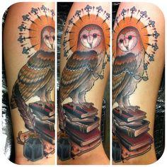 done by joseph ortega - Like the idea of integrating books