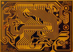 PCB for Arduino, design by Adilson Akashi