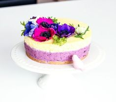 Borůvkovo-pomerančový cheesecake -