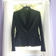 The Limited Black Jacket cute black coat from the limited. never worn. size 4. two pockets and two buttons. all four of the black blazer coats I have in my closet are $100 together! Offers Welcome✅ The Limited Jackets & Coats Blazers