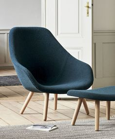 The About A Lounge Chair has a compact body with shaped armrests combined with r, Product specs, Find dealer Danish Furniture, Office Furniture, Furniture Design, Seat Cushions, Pillows, Layout, Cabinet Makers, Design Awards, Bar Stools