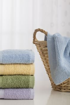 Soften fuzzy towels