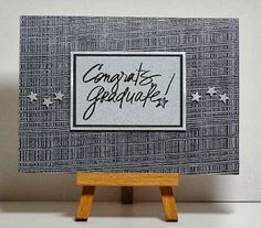 Cathys Card Spot: Congrats on your graduation
