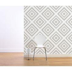 Muriva Eton Wallpaper Grey at wilko.com