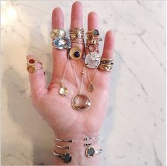 Everything but the kitchen sink!  #shaesby #finejewelry #shop #oneofakind #love #shoplocal