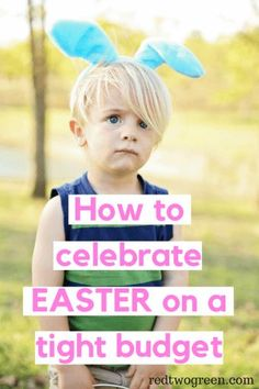 Celebrating Easter can get expensive with Easter baskets, dinners, and other goodies. But it doesn't have to be that way! Celebrate Easter on a budget. Frugal Living Tips, Frugal Tips, Ways To Save Money, Money Saving Tips, Money Tips, Easter Season, Tight Budget, Budgeting Tips, Debt